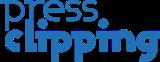 Pressclipping në rrjedha me informacionet Logo